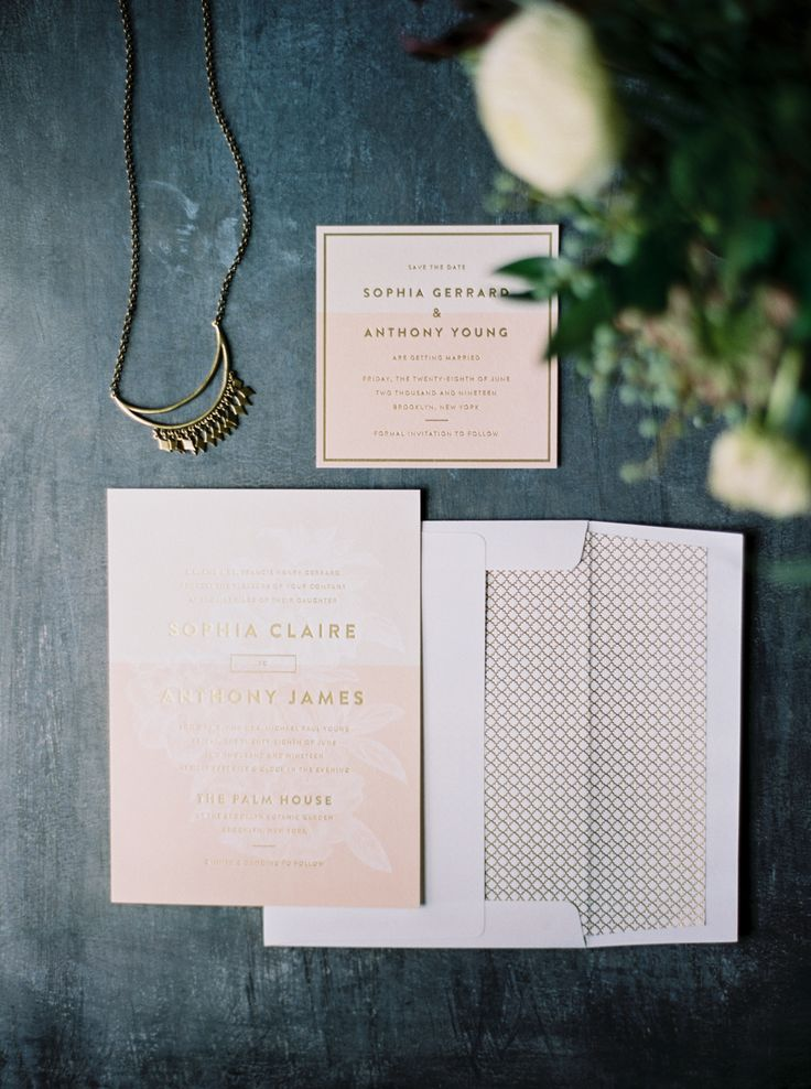 Lark Wedding Invitation set by Jessica Tierney for Bella Figura