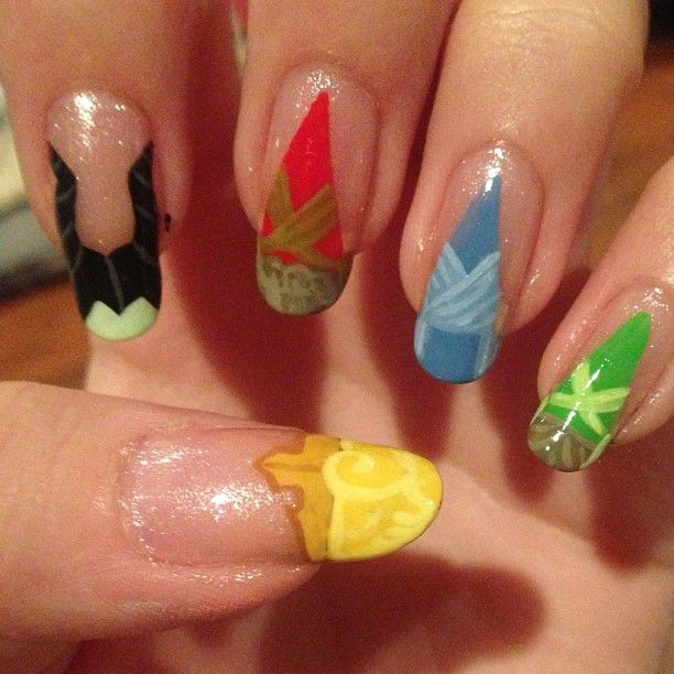 Sleeping Beauty Nail Art: 117 Best Nail Art Images On Pinterest