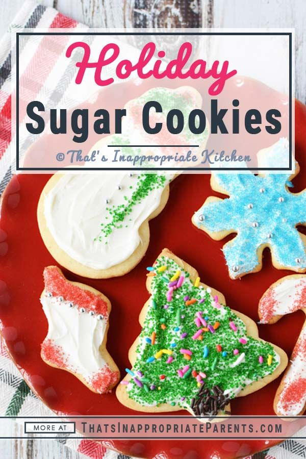 Super soft Christmas sugar cookies Cookie Recipes in 2018
