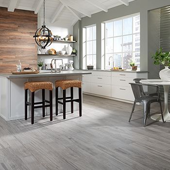 """Lumber Liquidators 36"""" x 6"""" Oceanside Oak Gray HD Porcelain Tile... love that it looks like wood but is actually tile. Perfect for the Florida weather and humidity."""
