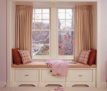 window and sofa under