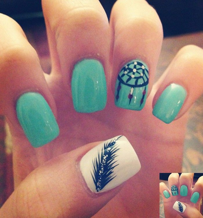 Simple Nail Design Ideas adorable nail art design ideas Tumblr Black Acrylic Nails Httpwwwmycutenailsxyztumblr