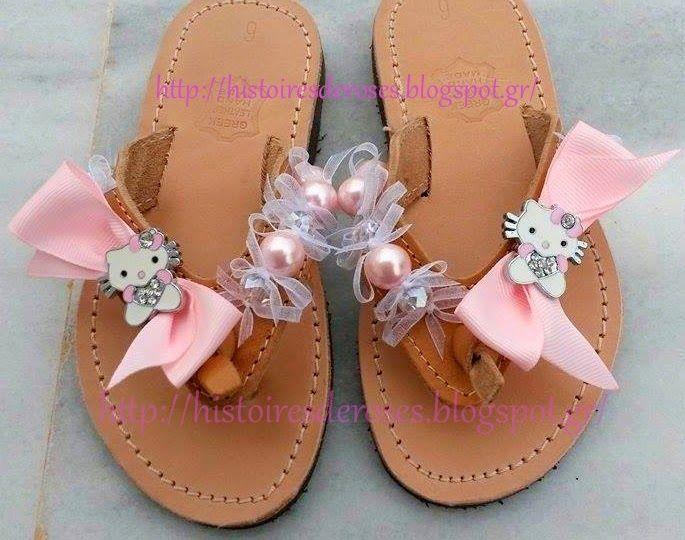 Histoires De Roses: hello kitty sandal for princess girl