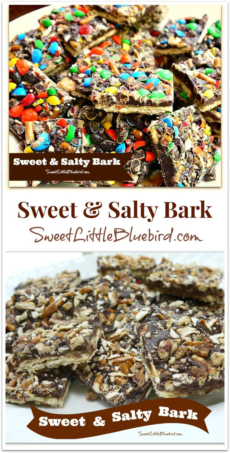 Sweet Amp, Sweet Addicts, Salty Amp, Salty Bark, Sweet Treats Easy To ...