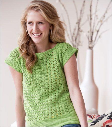 111 best Threadworks - Summer Tops images on Pinterest | Knit ...