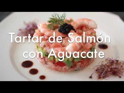 Tartar de Salmón y Aguacate - Recetas Navideñas - YouTube