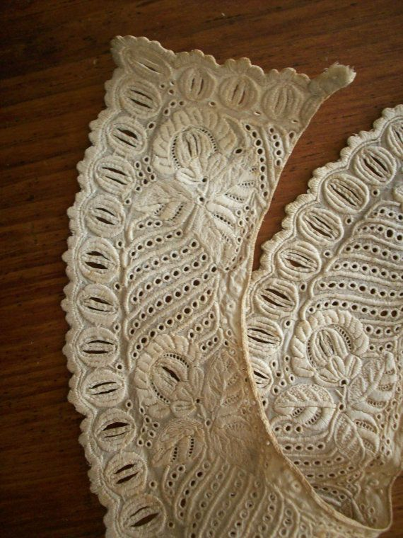 Etsy listing at https://www.etsy.com/listing/185255762/hand-done-ayreshire-white-work-lace