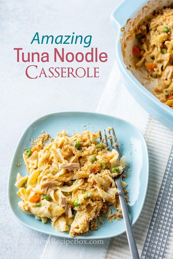Best Tuna Noodle Casserole Recipe With Egg Noodles Best Recipe Box Recipe Tuna Noodle Casserole Best Tuna Noodle Casserole Recipe Tuna Noodle