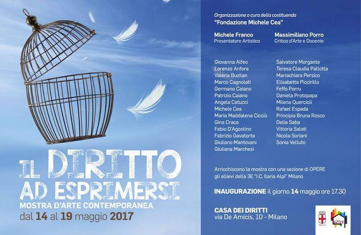 Su questo tema si sono cimentati 27 artisti: in una mostra, a cura della Fondazione Michele Cea, alla Casa dei Diritti, a partire dal 14 maggio