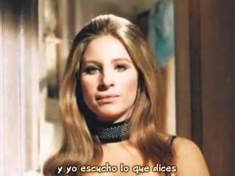 """Woman In Love"""" de Barbra Streisand....♫El camino es largo y estrecho ,, cuando los ojos se encuentran.........y el sentimiento es fuerte ♫"""