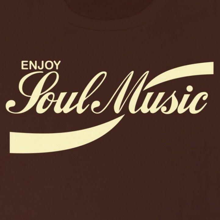 Enjoy Soul Music coke style poster