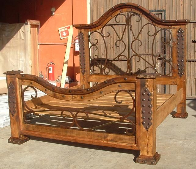 mexican/spanish style Dream Bed