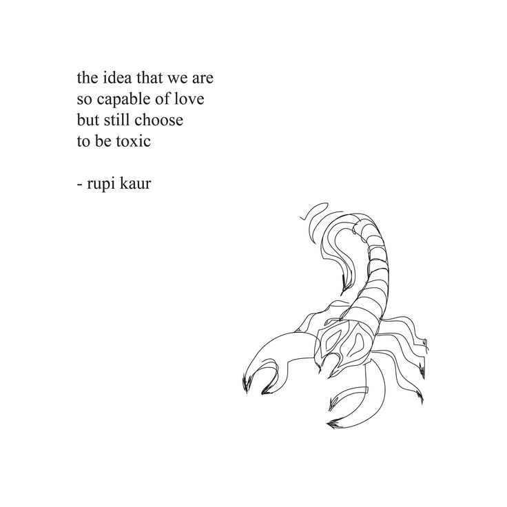 the idea that we are so capable of love but still choose