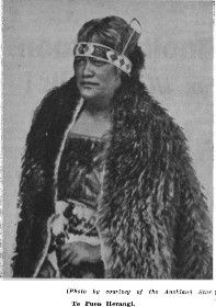 FAMOUS NEW ZEALANDERS — NO. 42 — TE PUEA HERANGI: PRINCESS OF WAIKATO AND LEADER OF HER PEOPLE