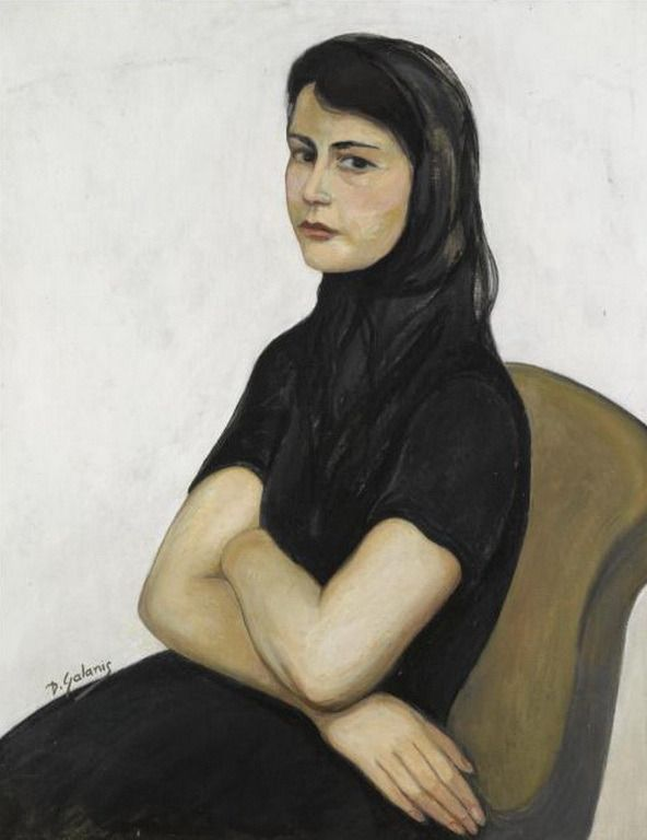 Γαλάνης Δημήτριος – Dimitrios Galanis [1882-1966] | paletaart – Χρώμα & Φώς