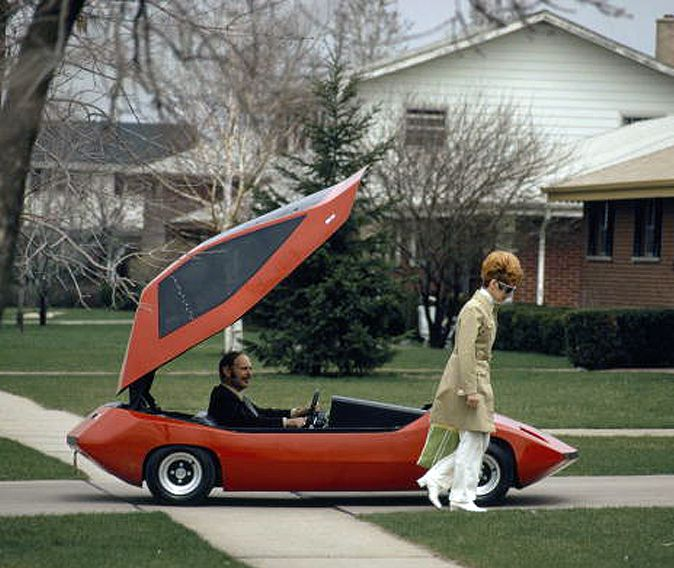 thats-the-way-it-was: Exide Sundancer electric car - November, 1972
