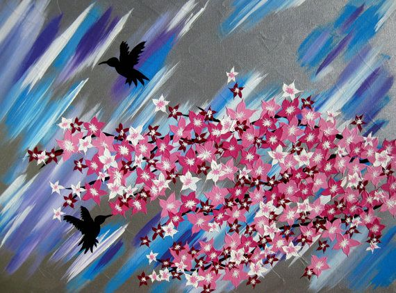 cherry blossom tree  painting of cherry blossom wedding