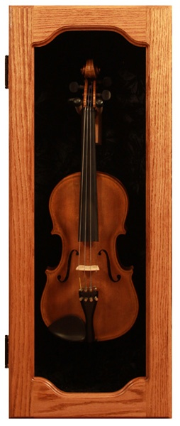 A nice way to display Dads old violin  Decorating
