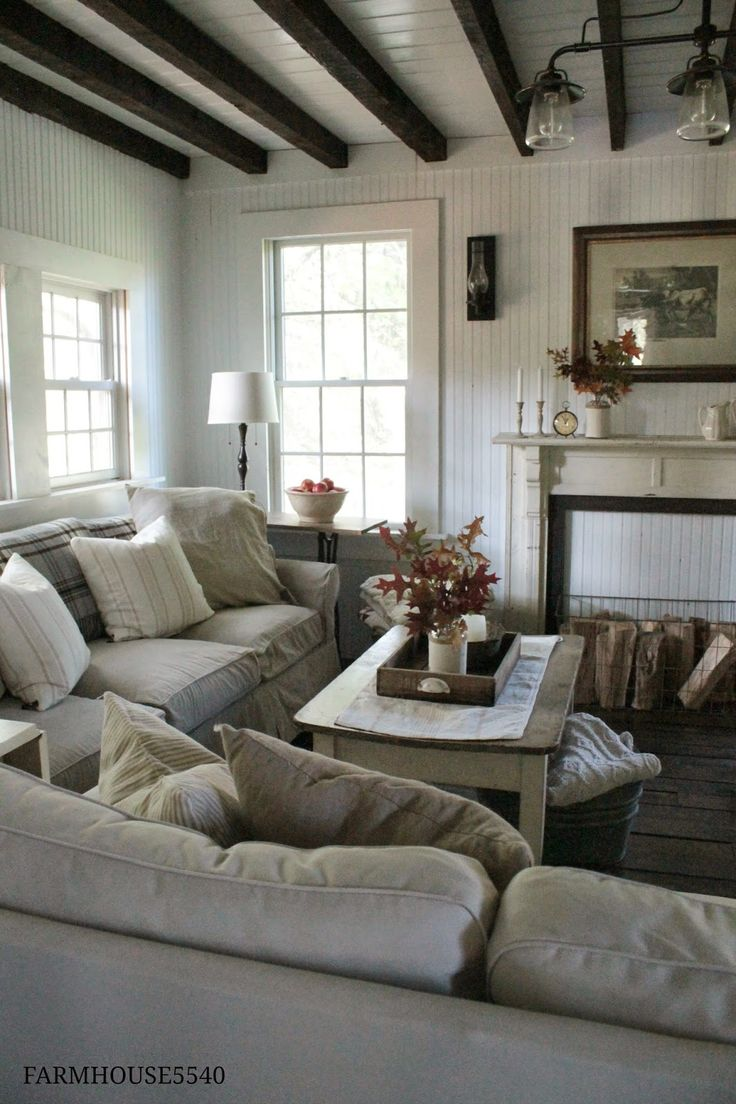 Best 25 Farmhouse Family Rooms Ideas On Pinterest Cozy Living Rooms Cream Couch And Cozy