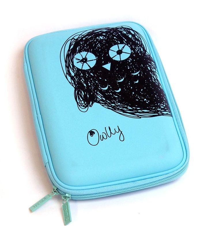 Scruffs Hardhead Pencil Case - Owlly