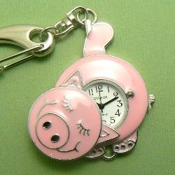 Pig Pocket Watch