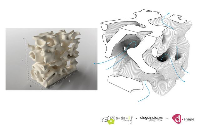 Reef porosity model
