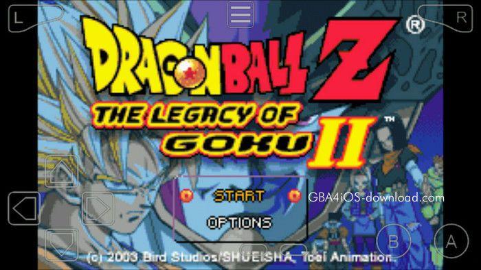 Dragon Ball Z - The Legacy of Goku 2 GBA ROM   GBA4IOS