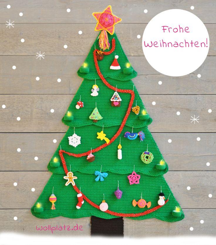 Machen Sie mit beim Wollplatz AdventsCALender! Ab 1. Dezember 2015 veröffentlichen wir täglich auf diesem Blog eine weihnachtliche, gratis Anleitung.