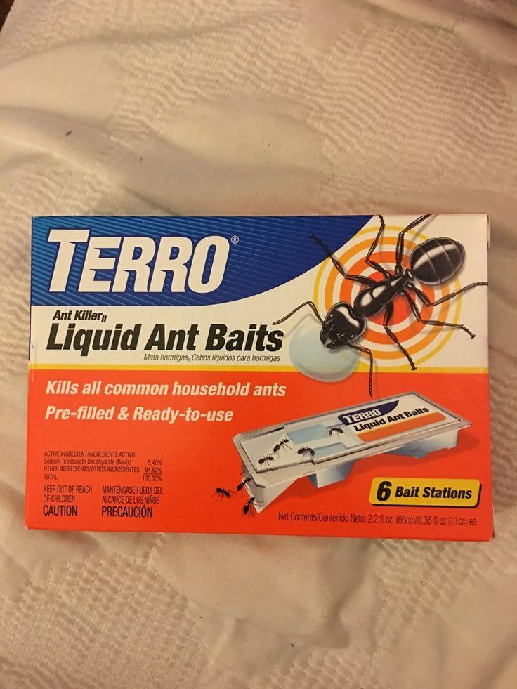Terro Ant Killer cebos líquido (6 estaciones de anzuelo, contenido neta 2.2 fl.oz/0.36fl.oz)