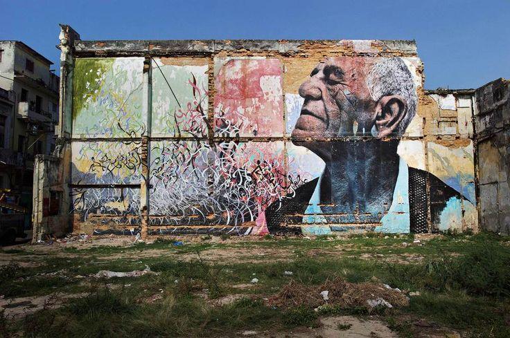 Les sillons de Cuba, par JR. Felix Riviera Ramirez :« Je suis né dans l'est, à Guantanamo, le 25 février 1945. Je suis arrivé à La Havane en 1962. J'ai travaillé en tant que soudeur. J'ai travaillé sur la route 8, d'ici jusqu'à l'est du pays. On a construit une section jusqu'à Matanzas. Ensuite j'ai travaillé dans des restaurants, à la plonge, puis je suis devenu cuisinier. J'ai travaillé dans un camping pendant 7 ans et ensuite j'ai pris ma retraite. Je ne pouvais pas continuer.