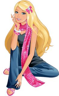 Boneca Barbie PNG