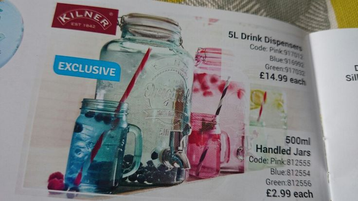 Jar glasses and water cooler from The Range..... Love!