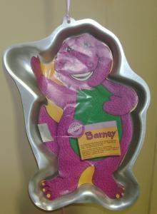 Barney Cake Pan.