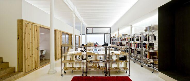 @RoomGlobal  Josep Ferrando's architecture studio. Barcelona.