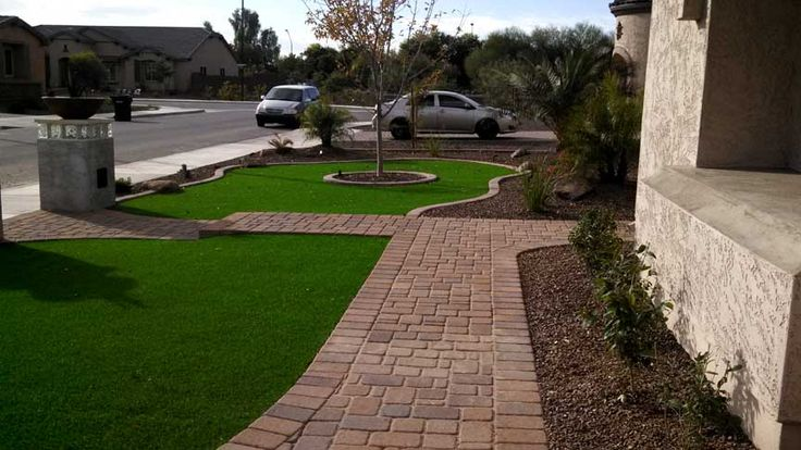 1000 images about synthetic grass on pinterest for Landscaping rock queen creek az