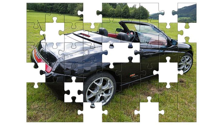 Free Jigsaw Puzzle Online - ALFA ROMEO GTV  #Game #JigsawPuzzle #Puzzle #freegame