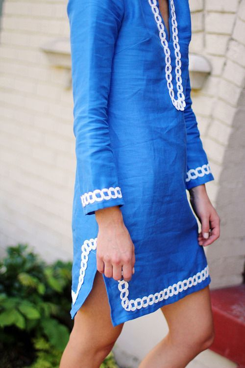 Linen (?) Summer Dress