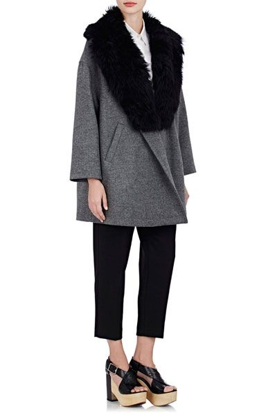 Modetrends Herbst 2015: Jacken und Mäntel mit Lammfell