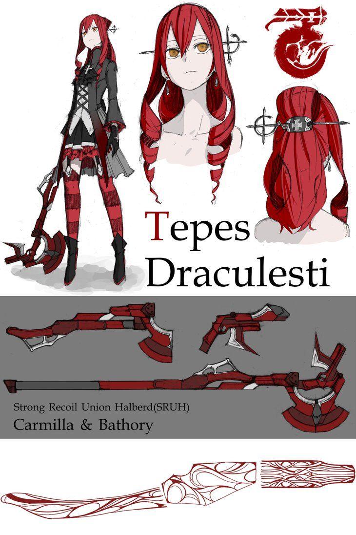 OC: Tepes Draculesti by monorobu.deviantart.com on @DeviantArt