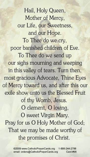 Love saying this prayer.