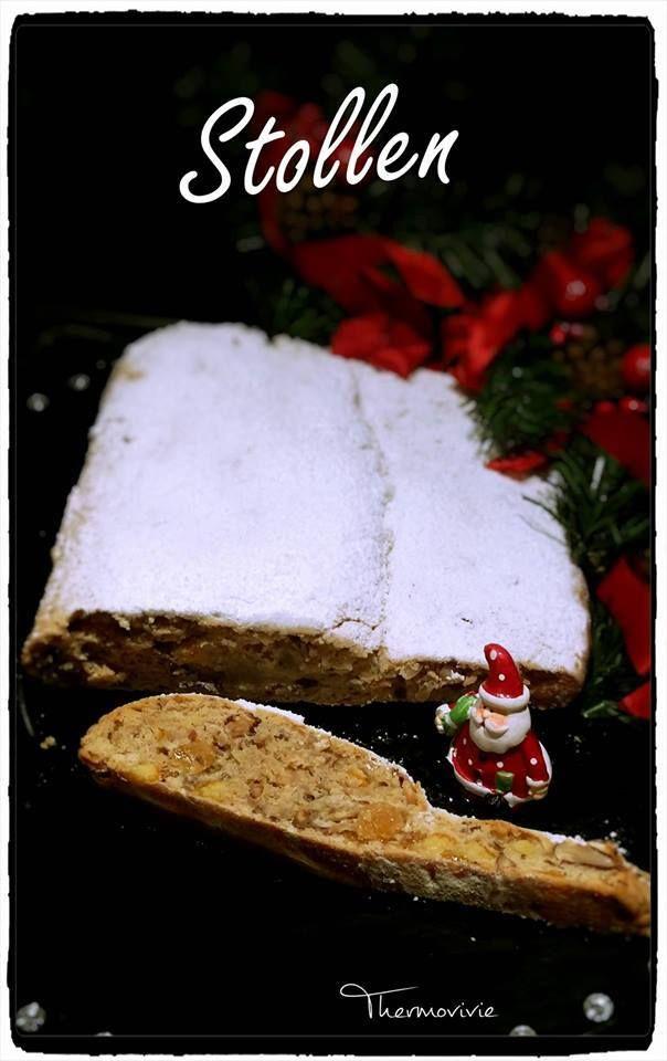 Impossible de passer les fêtes de fin d'année sans lui, il est vraiment le gâteau emblématique de Noël. Le Stollen est merveilleux par ses gouts de fruits secs, d'oranges confites et cannelle. Ingrédients : - 280 gr de farine - 10 gr de levure chimique...