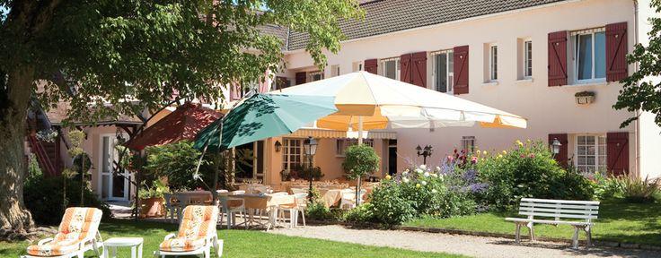 Hôtel Les Fleurs 2 étoiles Pontaubert Avallon Vézelay Bourgogne Logis de France