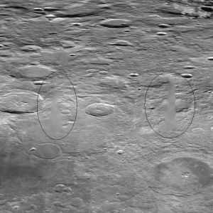 Structures airbrushed out in NASA moon photos? http://www.top10ufo.com/airbrushed-structures-on-the-moon/