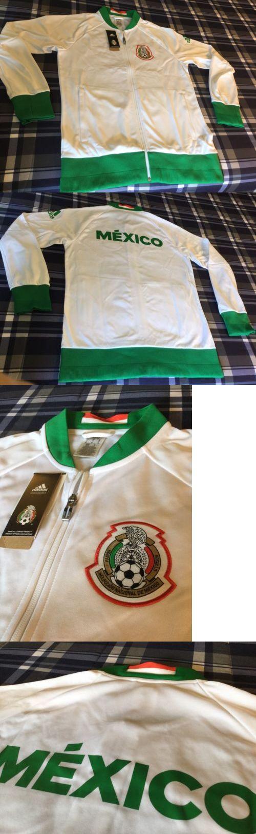 Men 123490: Seleccion Mexicana Futbol Mexico Adidas New W Tags Medium Size Track Jacket -> BUY IT NOW ONLY: $85 on eBay!
