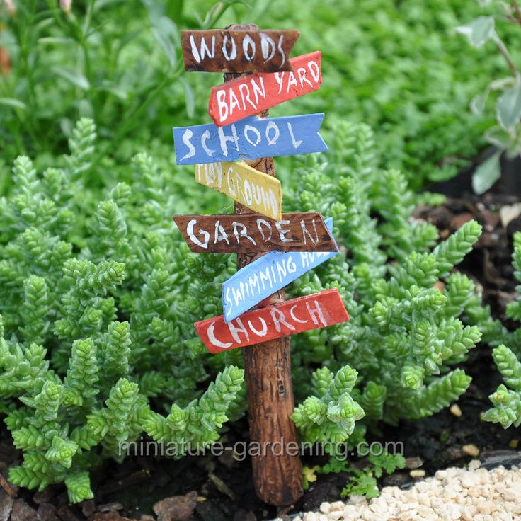 33 Best Images About Mini Garden: Signs On Pinterest