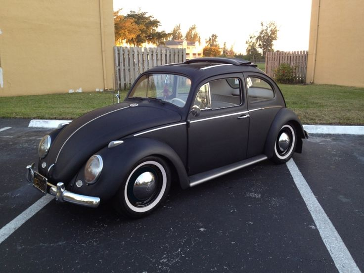 1963 Ragtop Volkswagen Beetle White Wall Tires AutoU