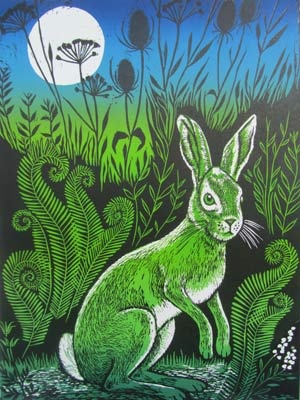 Linocuts/Etchings - Teresa Winchester