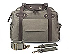 Awesome diaper bag $175: Each diaper bag has a rugged canvas exterior, lots of wipeable compartments, a cell-phone pocket and even backpack straps. Bonus: They're unisex, so dads will be happy to carry them.