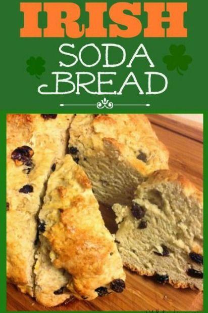 Irish soda bread recipe, Soda bread and Bread recipes on Pinterest