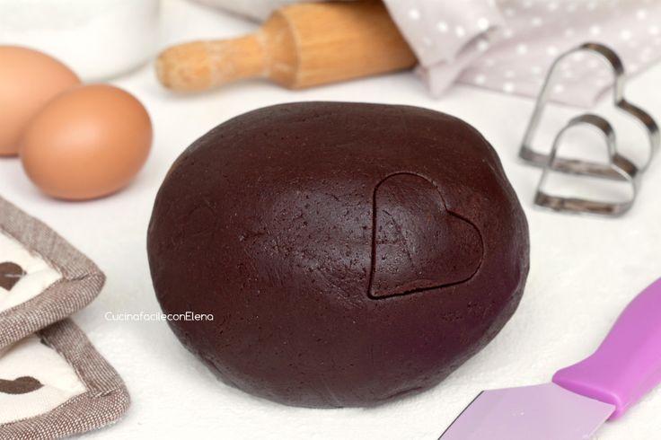 Pasta Frolla al Cacao (Cocoa Shortcrust Pastry)